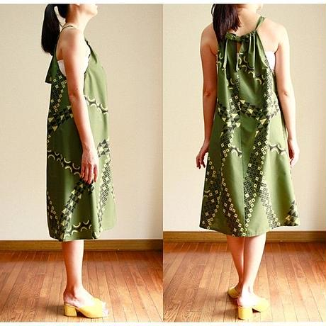 SWING DRESS  OLIVE TATOO ワンピース HNLS02789-47210