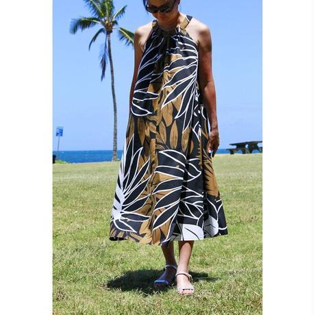 Long Ginger Dress フォレストリーフ ロングジンジャードレス HNLS02846-74610