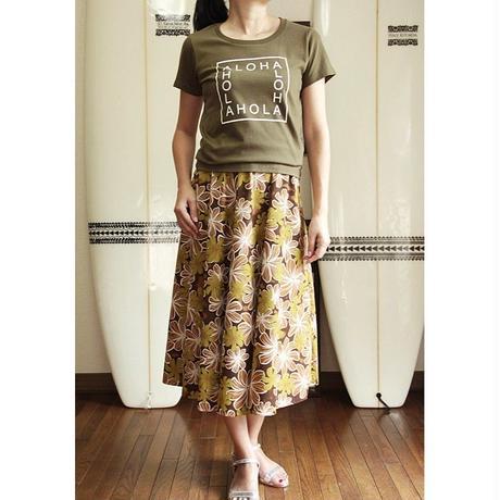 Flare Skirt モカ ティアレ HNLS02634-81410
