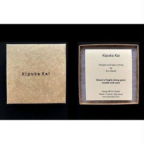 KipukaKai Hibiscus コアウッドピアス HNLS02560-95910