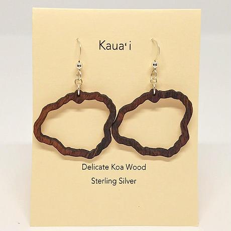 KipukaKai Kaua'i コアウッドピアス HNLS02550-95910