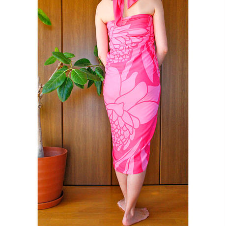Hawai'ian Pareo    TORCH GINGER   HOT PINK/LIGHT PINK   HNLS03113-5460