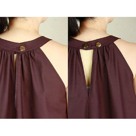 Ginger Dress カロ レッドビーンズ ジンジャードレス HNLS03003-48210