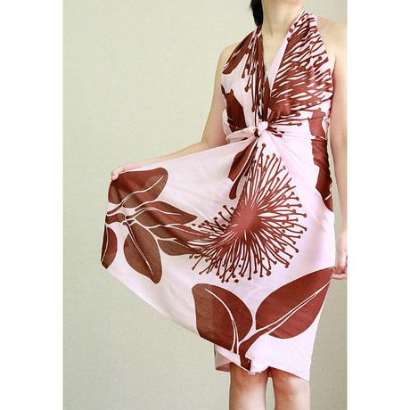 Hawai'ian Pareo   OHIA LEHUA  Pink/Burgundy   HNLS03041-8660
