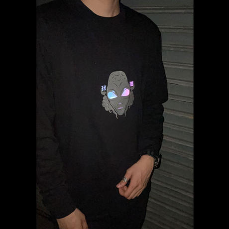 U.F.O L/S Tシャツ 5.6oz.