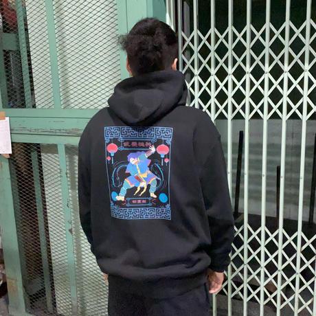 武甕槌神(タケミカヅチノカミ)パーカー10.0oz