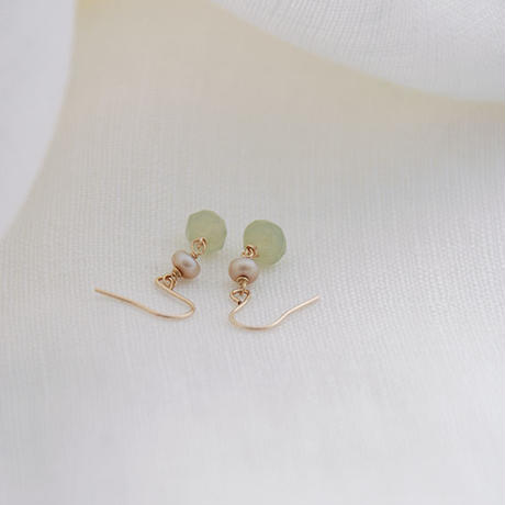 Gilda-pierced earrings(再制作)