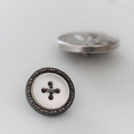 【ボタンセット】france vintage 金属ボタン2個セット 183