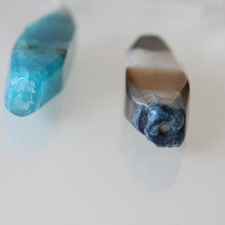 【一点もの】天然石ビーズ 5.5㎝   フランス 直輸入