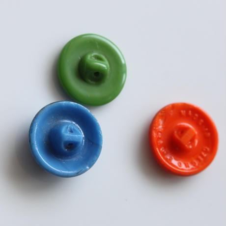 【ボタンセット】ガラスボタン3個セット フランスヴィンテージ
