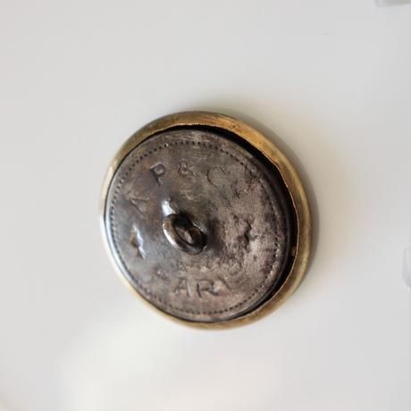 【ハンティングボタン】fh-20 きつねのメタルボタン 25㎜ フランス