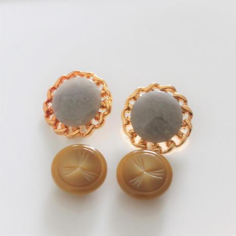 【ボタンセット】france vintage ボタン4個セット 167