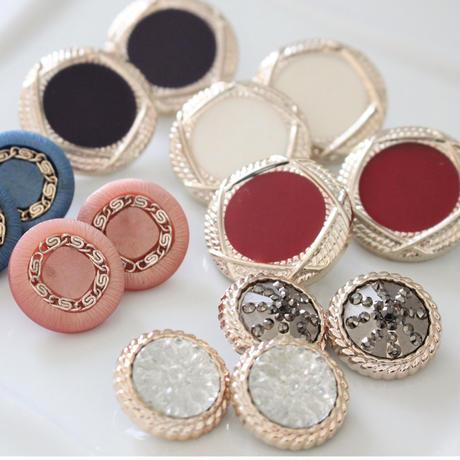 【ボタンセット】france ボタン2個セット 22㎜ 365