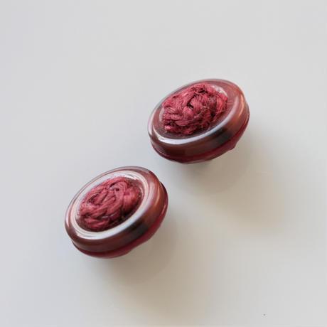 【ボタンセット】france vintage ボタン2個セット 18㎜ 159