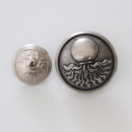【ボタンセット】france vintage 金属ボタン2個セット 131