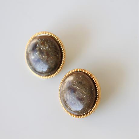 【ボタンセット】france vintage ボタン2個セット18㎜(Brown) 152