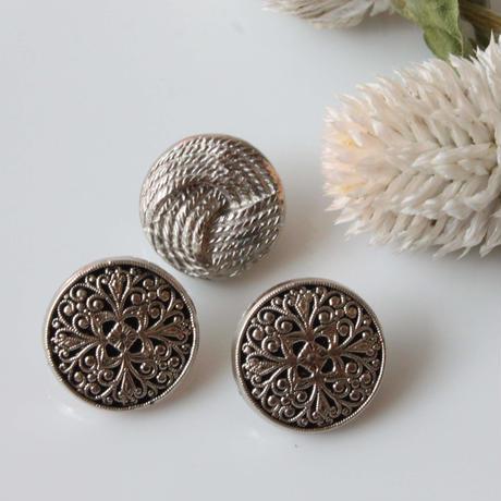 【ボタンセット】france vintage 3個set フランスボタン