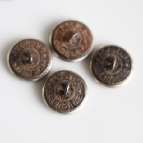 【ハンティングボタン】  fh_10 馬 16㎜   メタルボタン フランス