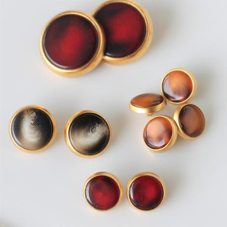 【ボタンセット】france vintage ボタン2個セット 13㎜  145