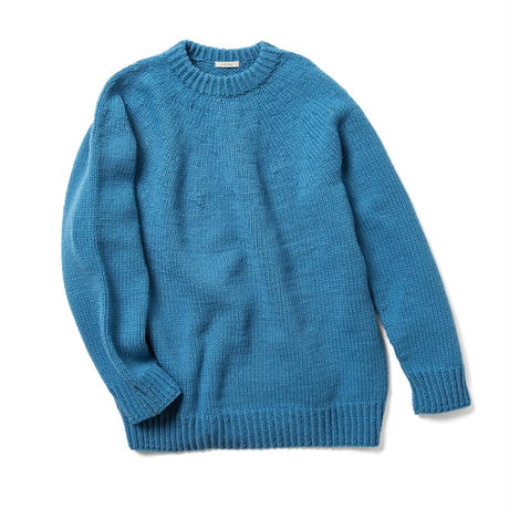 HAND KNITTED SWEATER <UNISEX>