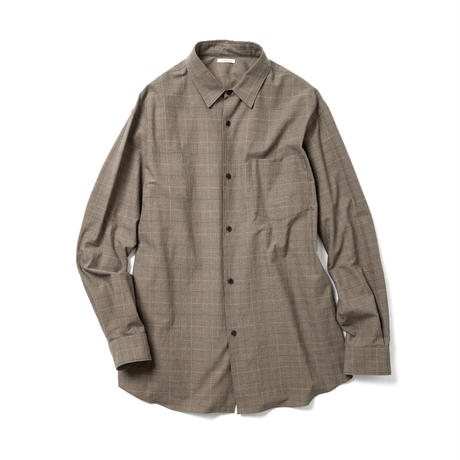 LOOSE FIT SHIRT  -CHECK-