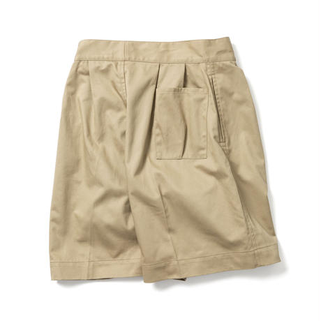 【HOMME】DOUBLE BELTED GURKHA SHORT TROUSERS【初回交換送料無料】