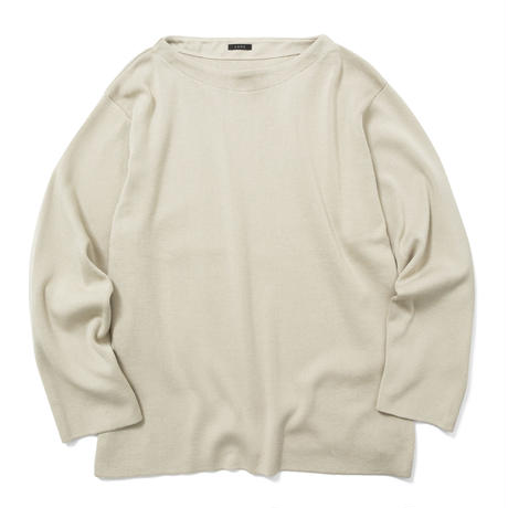 【HOMME】COTTON KNIT LONG SLEEVE TEE