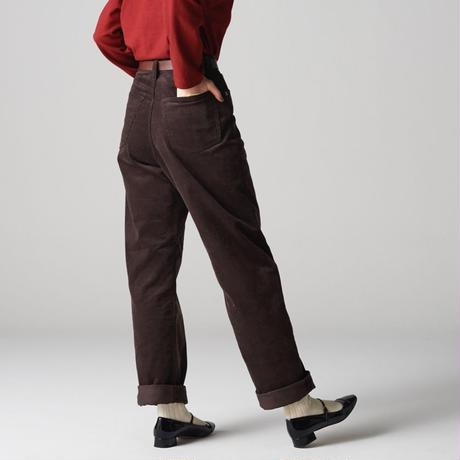 【11月下旬再入荷予定】KAY High Waist Corduroy Pants
