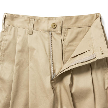 【HOMME】2 TUCK TROUSERS