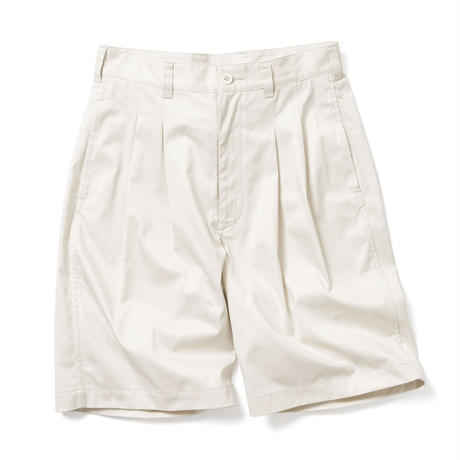 【HOMME】2 TUCK SHORT TROUSERS【初回交換送料無料】