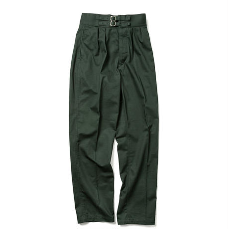 【HOMME】DOUBLE BELTED GURKHA TROUSERS