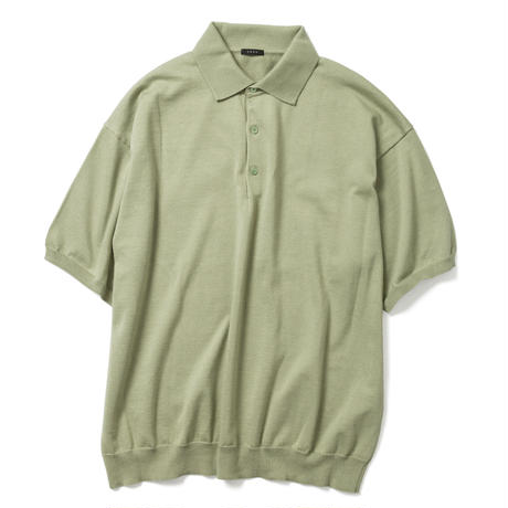 【HOMME】COTTON KNIT POLO