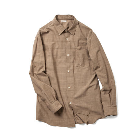 【UNISEX】LOOSE FIT SHIRT  -CHECK-