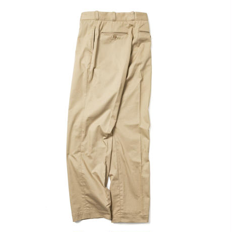 【HOMME】WIDE CHINO TROUSERS【初回交換送料無料】
