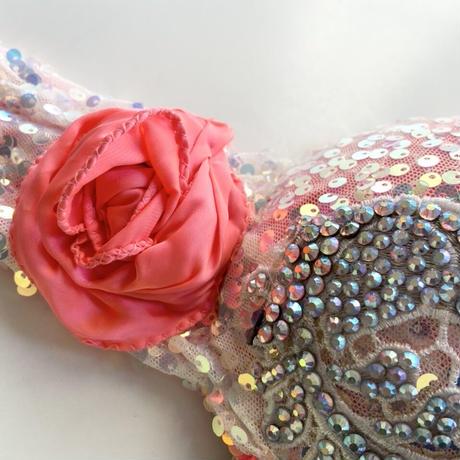 ベリーダンスコスチューム【Neon pink】