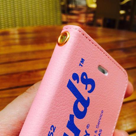 手帳型スマホケース(iPhone)
