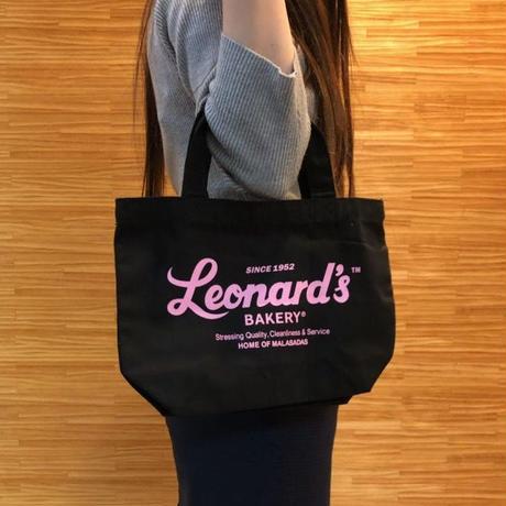 Leonard'sロゴ入りトートバッグ(S)(ブラック)