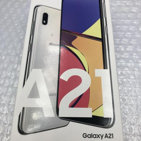 [Sランク] 未使用品 docomo版ロック解除済みGalaxy A21 (SC-42A)