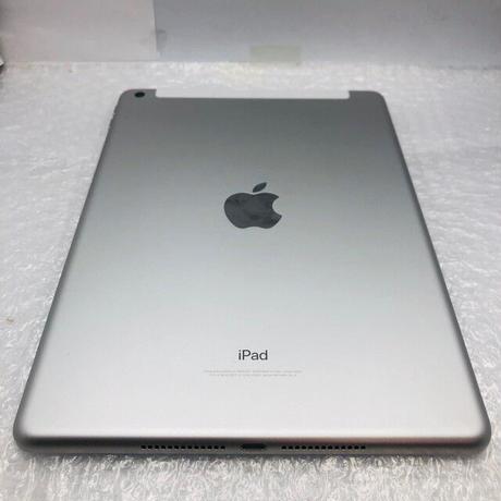 B13【中古Bランク】SIMFREE SoftBank iPad 第5世代 32GB シルバー (一点モノ)