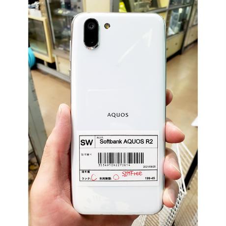 【中古Cランク】SoftBank版SIMロック解除済み AQUOS R2 706SH 各色