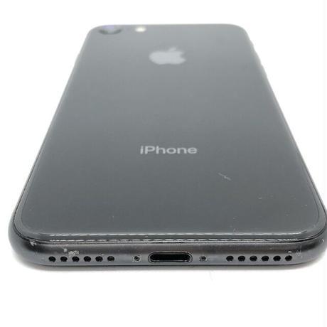 B02【ジャンク】docomo iPhone 8 64GB スペースグレイ(一点モノ)