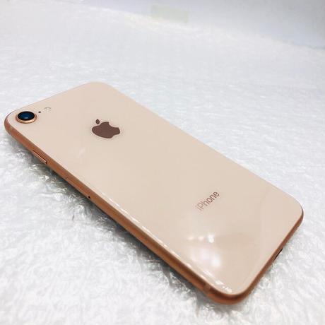 B06【中古Bランク】SoftBank iPhone 8 256GB ゴールド (一点モノ)