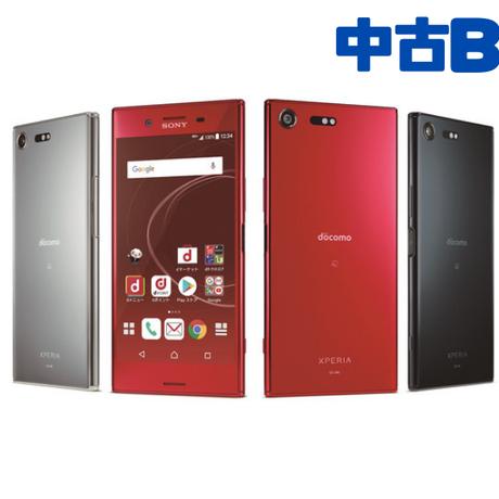 【中古Bランク】SIMロック解除済 docomo Xperia XZ Premium SO-04J 各色