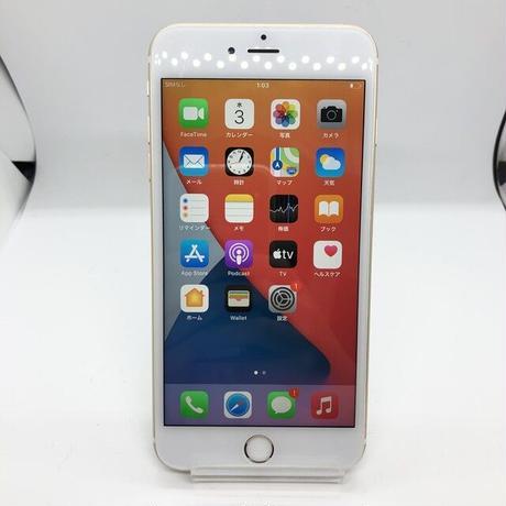 B18【ジャンク】docomo iPhone 6sPlus 64GB ゴールド(一点モノ)