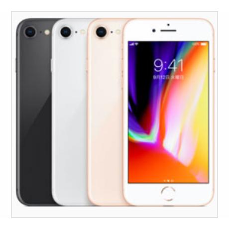 【中古Bランク】SIM FREE  iPhone 8 64GB 各色