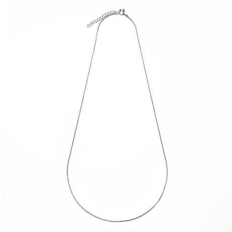 filled necklace white gold