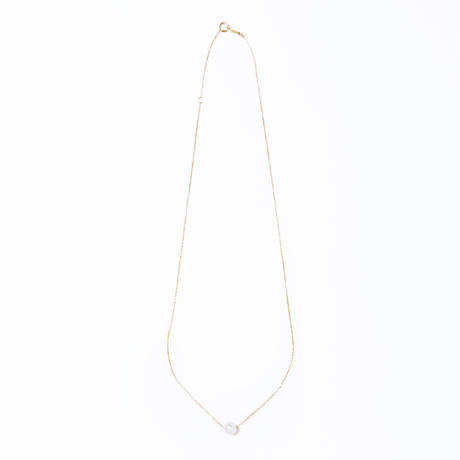 pearl  chain necklace 【パールワントップネックレス】