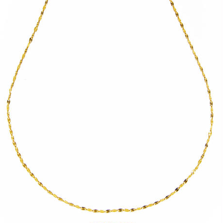 sunlight necklace / yellow gold