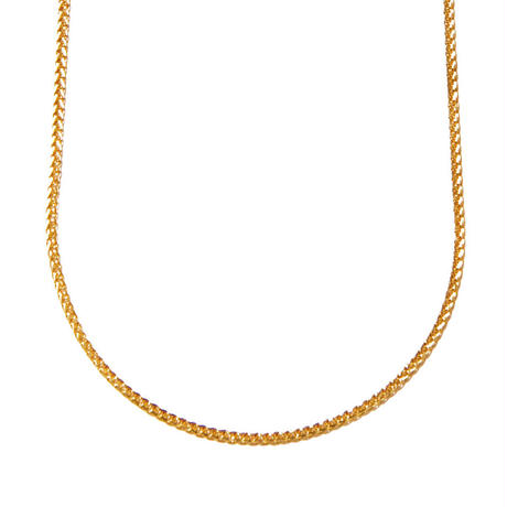 filled necklace yellow gold
