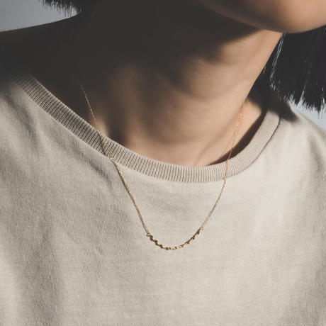 drop victoria necklace / yellow gold